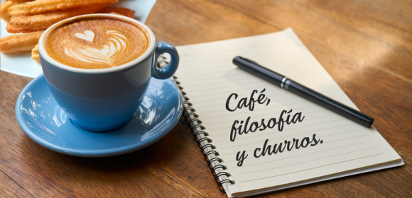 «Democracia». Café, Filosofía y Churros.