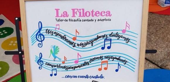 La Filoteca en  3º de Infantil, grupo «C». Ceip Jacaranda.