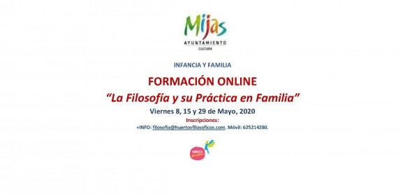 Formación «ONLINE»: La Filosofía y su Práctica en Familia.