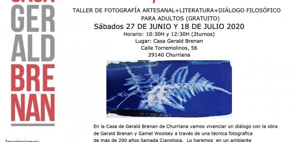 En Casa de Gerald Brenan: fotografía artesanal+diálogo filosófico