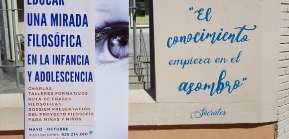 Frases-murales en colegios e instititos de Benalmádena